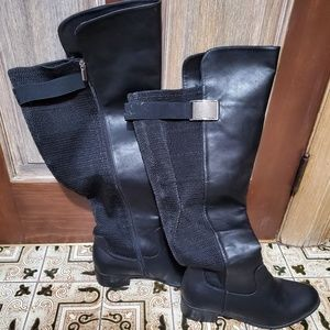 Cloud Walker Over The Knee Boots - Size 13WW